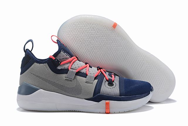 Nike Kobe AD EP Shoes Grey Blue White